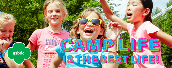 Camp Life banner for daycamps